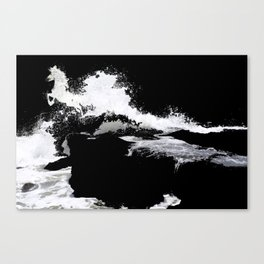 We all come from the sea Canvas Print