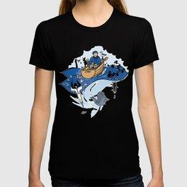 Bobbin' along the surf T-shirt
