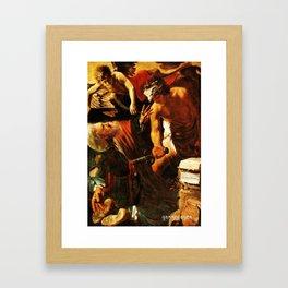 The Martyrdom of St. Julian Framed Art Print