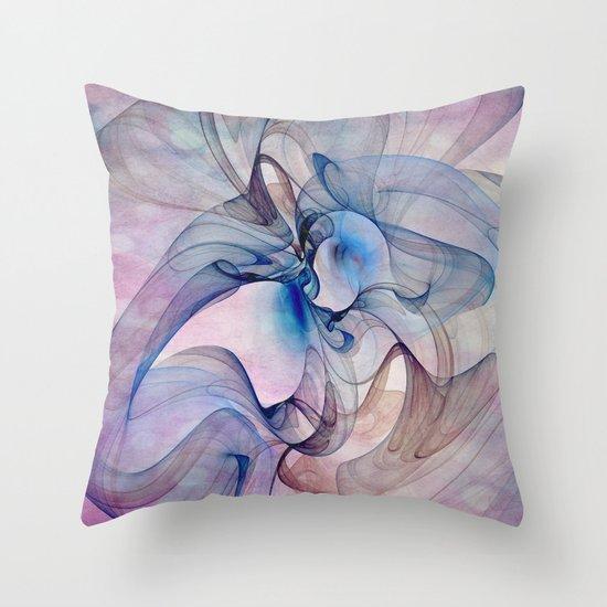 Dancing Veil Throw Pillow