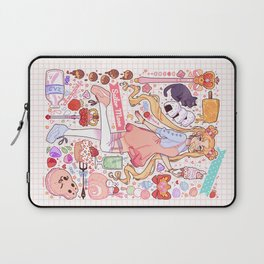 Sailor Moon sweets Laptop Sleeve