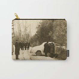 Icy Road Death 1952 Carry-All Pouch
