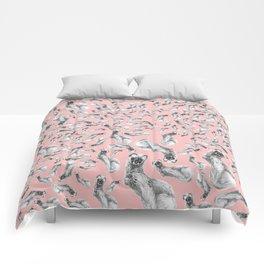 Siberian Weasel Kolinsky Comforters