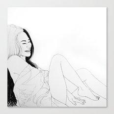 Happiness(illustration) Canvas Print
