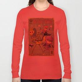 kick ass fan art 2 Long Sleeve T-shirt