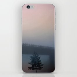 Misterious bridge iPhone Skin