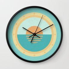 Tide Times (clock#14) Wall Clock