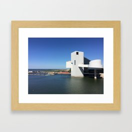Rock On CLE Framed Art Print