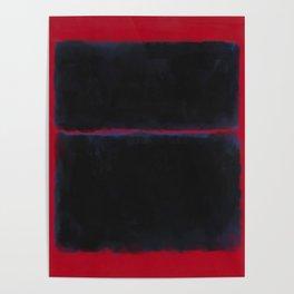 Rothko Inspired #6 Poster