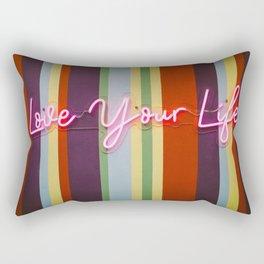 Love Your Life Rectangular Pillow