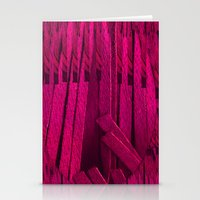 leather Stationery Cards featuring Leather pattern by Pepita Selles