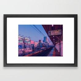 5 AM in Tokyo Framed Art Print
