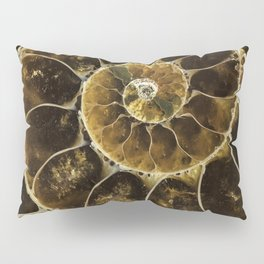 Detailed Fossil Pillow Sham