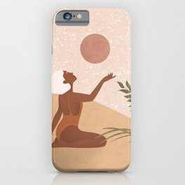 Strawberry Full Moon - Manifest your Desires and Wishes iPhone Case