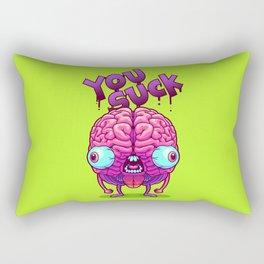 Neurotic Jerk Rectangular Pillow