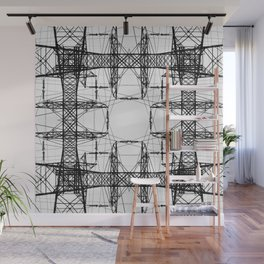 Symmetrical Voltage Wall Mural