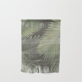 Tropical Leaves Wall Hanging