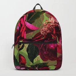 Vintage & Shabby Chic - Botanical Roses Summer Garden   Backpack
