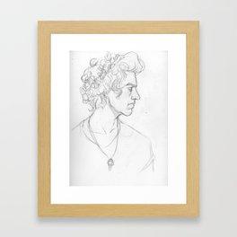 Sketch- Harry Framed Art Print