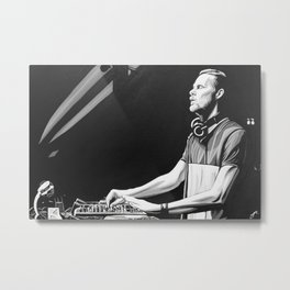ADAM BEYER Metal Print