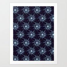 Christmas Snowflakes Art Print