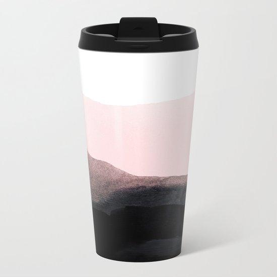 mountain horizon Metal Travel Mug