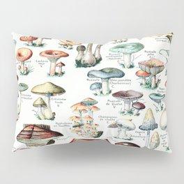 Adolphe Millot - Champignons pour tous - vintage poster Pillow Sham