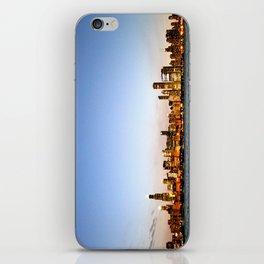 Chicago Skyline Sunset iPhone Skin