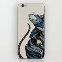rat iPhone & iPod Skins featuring Berlin Rat by Andreas Preis