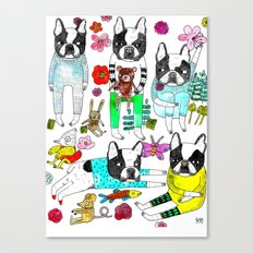 French Bulldog Canvas Print