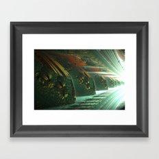 Cannon Battery (Light) Framed Art Print