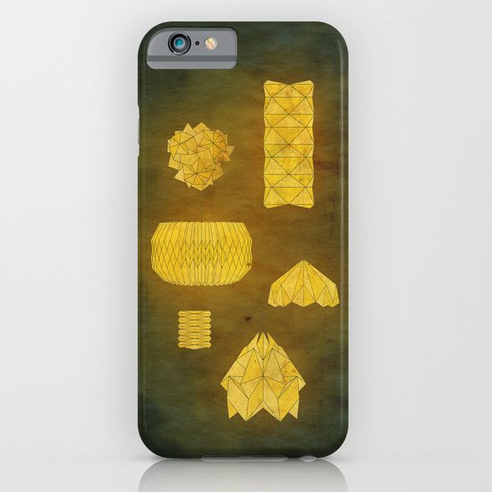Under Origami Skies iPhone & iPod Case