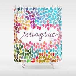 Imagine [Collaboration with Garima Dhawan] Shower Curtain