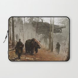 1920 - into the wild Laptop Sleeve