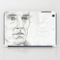 sherlock iPad Cases featuring Sherlock by Amanda Powzukiewicz
