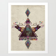 VOICES OF THE FOREST Art Print