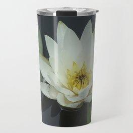Water Lilly Travel Mug