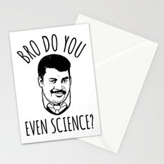 Bro Do You Even Science? Stationery Cards
