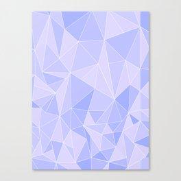 Purple Geometrics Canvas Print