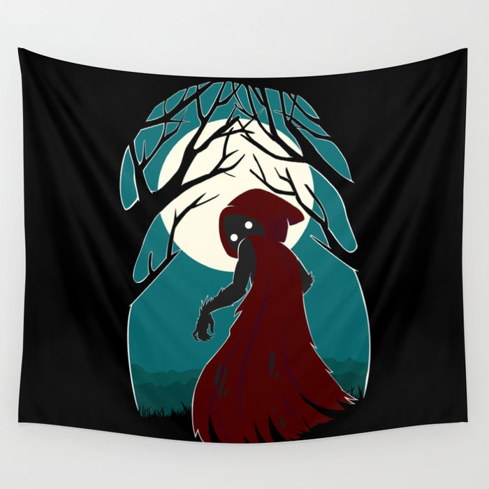 Red Riding Hood 2 Wall Tapestry