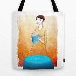 Reader Tote Bag