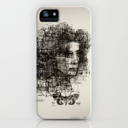 involuntary dilation of the iris iPhone Case