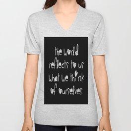 World Reflection Unisex V-Neck