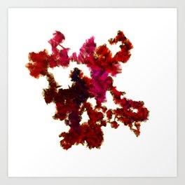 Human Chromosome 20: first 70,000 bases Art Print