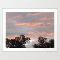 Heaven's Above Art Print