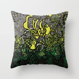 DEPTH-CHARGE Throw Pillow