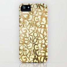 Din pattern iPhone (5, 5s) Slim Case