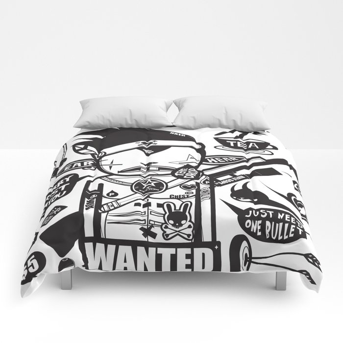 SORRY I MUST KILL YOU ! - DUEL Comforters