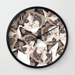Maisy's Cat Lady Wall Clock