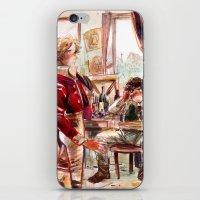 les mis iPhone & iPod Skins featuring les miserábles: atelier visit by Daniela Viçoso